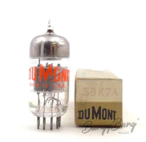 Lowest Prices! Vintage DuMont 5BK7A High Frequency Twin Triode Valve- BangyBang Tubes