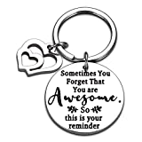 Inspirational Graduation 2021 Best Friend Birthday Gifts Keychain for Women Men BFF Teens Girls Students Daughter Son College Encouragement Gifts from Dad Mom Thank You Gifts