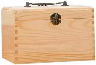 ソリッドウッド医学ボックスポータブルファーストエイドキット家庭医学ストレージボックス化粧ケース21×14×14センチDABEAB 救急箱 (Color : -, Size : -)