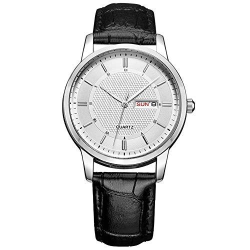 AZZ waterdicht kwartshorloge voor heren business series, mode-design-horloge, 3ATM waterdicht roestvrij stalen hoes