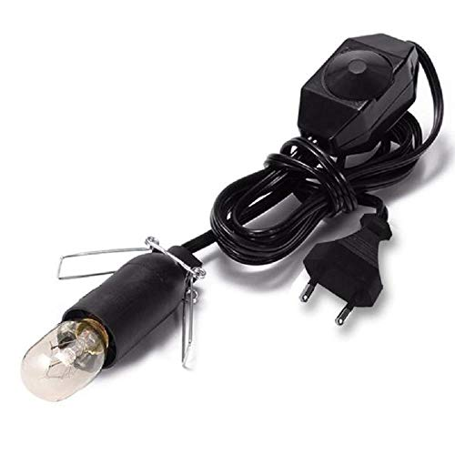 15W Wolfram Glühlampe und Dimmlichtlinie für Salzlampe (ohne Salzlampe), Eu-Verordnung E14