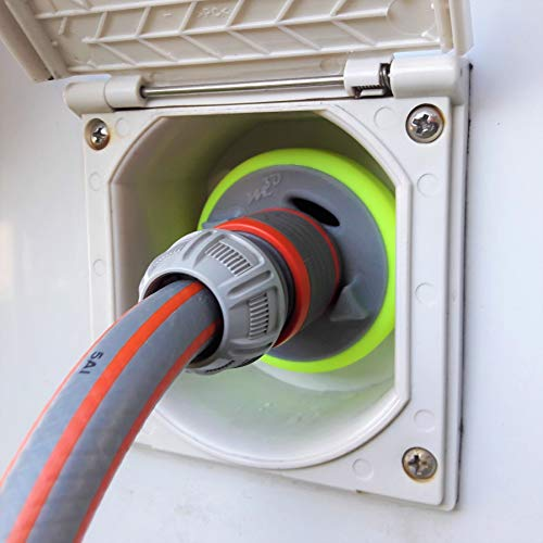 Wohnmobil Wassertankdeckel Tankdeckel Wassertankadapter mit Gardena Anschluss für neuere Dethleffs XLi, ALPA, TREND, PULSE Modelle (Typ 3-Pin D:68)