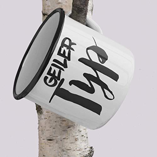 Emaille Tasse Geiler Typ Freund Beziehung Vatertag Liebe Geschenk Kaffee Tee Tasse Design Valentinstag