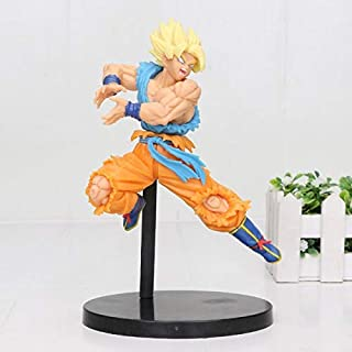 TANGGOOO 20Cm Super Saiyan Broly Z Broli Battle Figure Super Saiyan Son Gogeta Battle PVC Action Figures Toys Thing You Must Have Gift Ideas Girl S Favourite 5T Superhero Girls Animators Collection