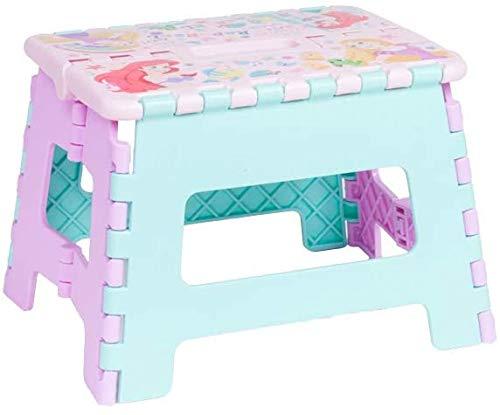 【Disney】 キャラクター ステップチェア 折りたたみ式 踏み台 イス 取手つき 小 ((D)プリンセス)