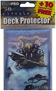 Ultra Pro Artists' Series Deck Protector - Ciruelo - Horned Warrior (Black Wizard) - Gaming Sleeves - 50 (50 +10 Bonus Pac...