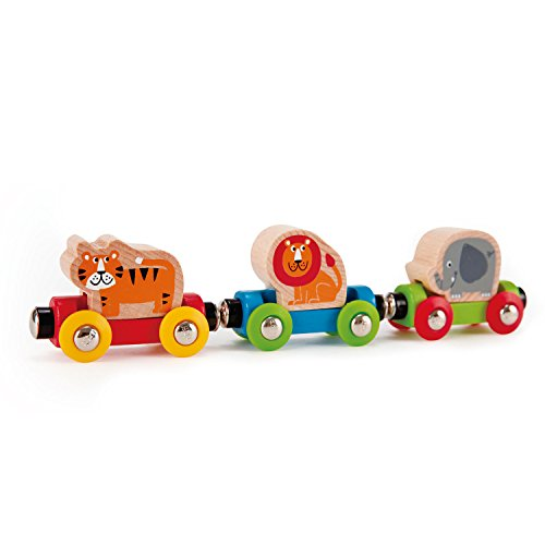 Hape E3807 Railway Spielzeug-Dschungelzug