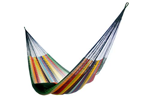 HAMMOCKS RADA- Handmade Yucatan Hammock - Matrimonial Size Tropical Multicolor - True...