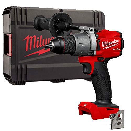 Milwaukee M18FPD2-0 18V 1/2' Fuel Percussion Drill with Stackable Carry Case
