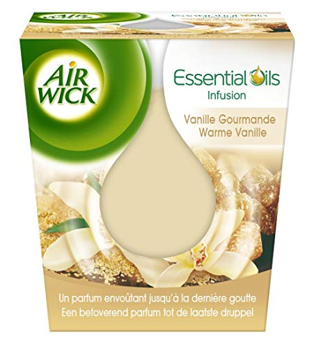 Air Wick Désodorisant Bougie Essential Oils Vanille