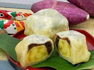 白いきなり団子(10個入り)熊本 土産 和菓子 長寿庵 内祝い お供え お取り寄せ スイーツ ギフト さつまいも