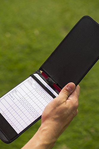 Callaway Scoreboard Karte Leder Halter, schwarz, C40104 - 2