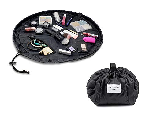 Lay-n-Go Cosmo (20 Inch) Cosmetic Bag, Black