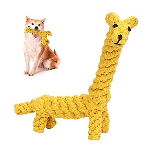 O-Kinee Haustier Kauspielzeug, Hundespielzeug, Hergestellt aus Natürlicher Baumwolle, Zahnreinigung für Haustiere Hunde, Interactive Welpenspielzeug, Unzerstörbares Kauspielzeug für Hunde