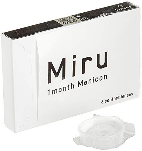 Miru 1 month Menicon Monatslinsen weich, 6 Stück / BC 8.60 mm / DIA 14.00 mm / -3.5 Dioptrien