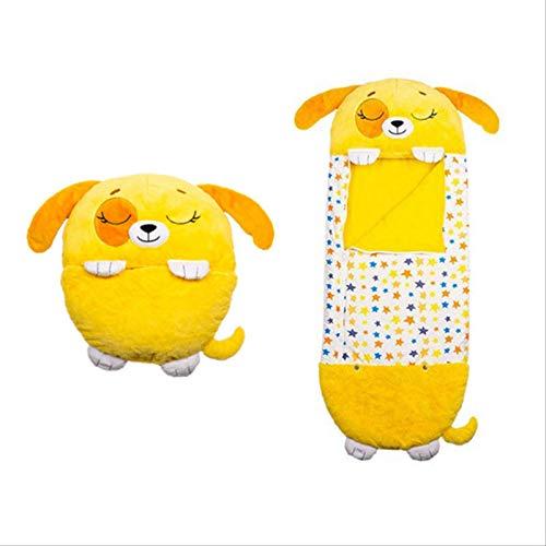 Happy Kids Nappers Almohada De Juego, Saco De Dormir para Bebé, Saco De Dormir Divertido, Saco De Dormir Suave Plegable para Niños, Saco De Dormir De Unicornio De Felpa