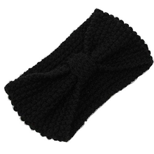 WEKSI® Bandeau Serre-Tête/Knit Bandeau de femmes (1)