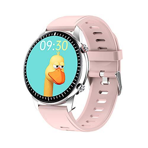 I15 Smart Watch Fitness Tracker para hombres y mujeres, monitor de ritmo cardíaco, podómetro, contador de calorías, IP67 impermeable con pantalla HD de 1.3 pulgadas, regalo cálido