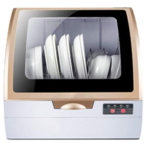 OCYE Tischgeschirrspüler, intelligenter automatischer Haushaltsgeschirrspüler, Hochtemperatursterilisation, geeignet für Wohnungen, Wohnmobile, Büros (weiß)