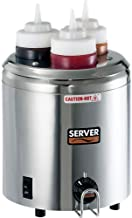 Server Products 86810 Signature Touch S/S 3-Bottle Squeeze Bottle Warmer
