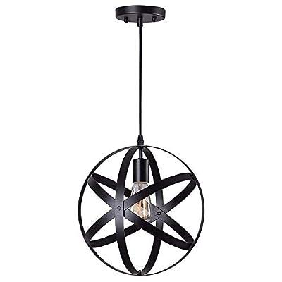 Pendant Brushed Nickel Hanging Light Fixture