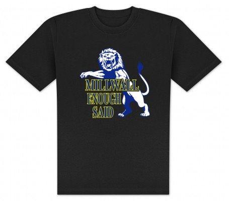 World of Football T-Shirt Millwall Enough - XL