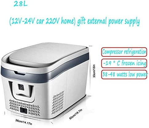 Mypnb Kompressor Kühlbox Elektro Lkw 24v 12v 220 240v 28l 38l Autokühler Kühlschrank Camping Kühlschrank Long Distance Fahren Reisen Und Camping Size 38l Küche Haushalt