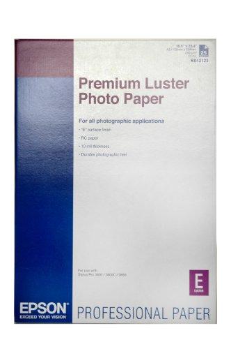 Epson S042123 Carta Premium Luster Photopaper 25 fogli A2