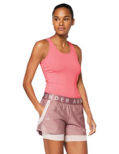 Under Armour Unisex-Adult Victory Tank-top Damen-Pink, Silber Shirts, L