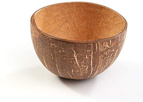 Kokosnoot kom rond 9 cm (10 stuks)