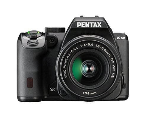 Pentax K-S2 20MP DSLR Kit w/ 18-50mm WR (Black)