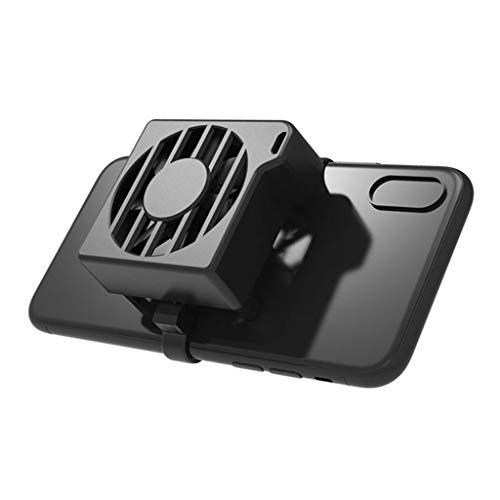 SMEJS Teléfono Cooler Teléfono Celular Refrigeración Ventilador de Aire portátil Radiador refrigerado Volver Portátil Portátil