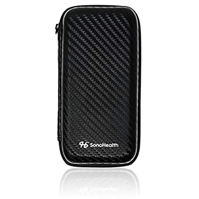EKGraph SonoHealth Carry Travel Case - Protective Hard Shell for EKGraph and Charger
