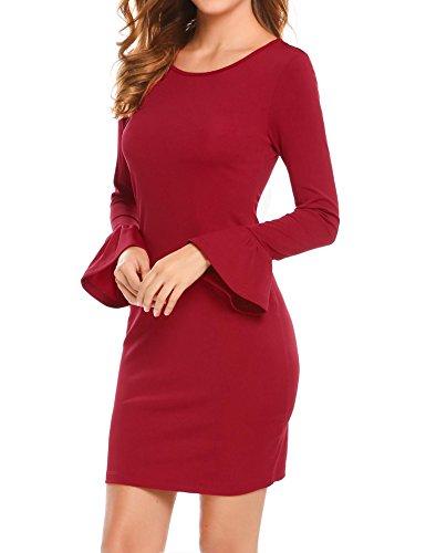Zeela - Vestito - Vestito - Donna rosso rosso vivo
