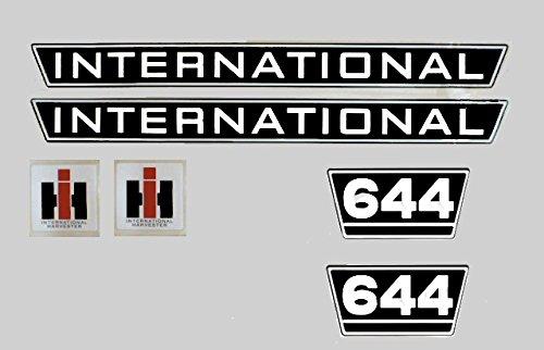 IHC Aufkleber Motorhaube 644