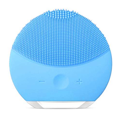 Cepillo de Limpieza Facial, Masajeador Facial y Dispositivo de Cuidado de la piel Antienvejecimiento Para Todos los Tipos de piel (Azul1)