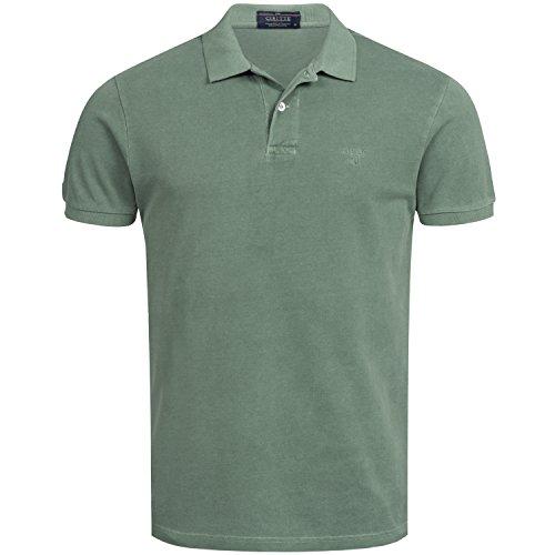 CIRITTE poloshirt heren korte mouwen polo-hemd effen T-shirt regular fit 100% katoen