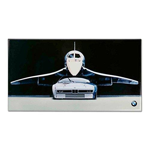 BMW Original Blechschild Bild Vintage M1 Deko Kollektion 2018/2020