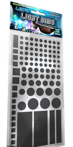 Lightdims Originalstärke - Lichtdimmer Led Abdeckung Für Router, Elektronikgeräte, Haushaltsgeräte, Und Weiteres. Dimmt 50-80% Licht, In Verkaufsverpackung.