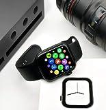 Mobirite Series 5 Lite 44mm Rubber Smartwatch - Bluetooth Smart Watch (Black)
