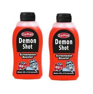 CarPlan Screen Wash Demon Shot 500ml'Makes up to 25 litres!' x 2