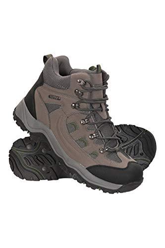 Mountain Warehouse Adventurer Stiefel für Herren - Wasserfeste Regenstiefel, Wanderschuhe aus Synthetik, Allwetterschuhe für Herren - Schuhe zum Wandern und Trekken Khaki 45