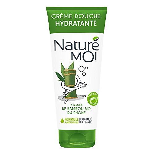 Naturé moi – Gel douche zen à l'extrait de bambou bio du Rhone – Hydrate, nourrit et protège les peaux normales à sèches – 200 ml