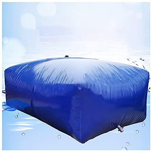 SHIJINHAO Recipiente De Almacenamiento De Agua De Gran Capacidad, Tanque De Almacenamiento De Agua Flexible con Válvula De Encendido, Usado para Riego Agrícola (Color : Blue, Size : 350L/1x0.7x0.5M)