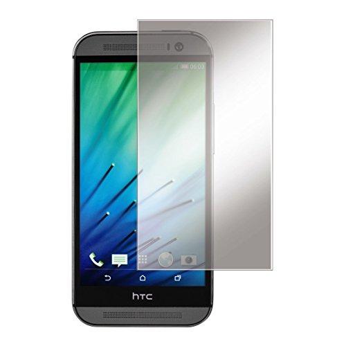 Hama Set di 2 pellicole protettive per display per HTC One (M8) M8s, di facile applicazione, qualità ultra HD, taglio laser di precisione, con panno in microfibra antistatica, per HTC One (M8) M8s