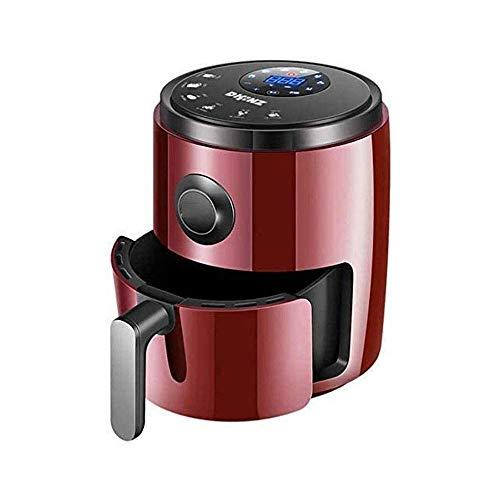 SHBV Friggitrice ad Aria fornello Elettrico da 3 5 Litri con Controllo della Temperatura cestello Antiaderente Manico antiscottatura e friggitrice con Rivestimento Antiaderente