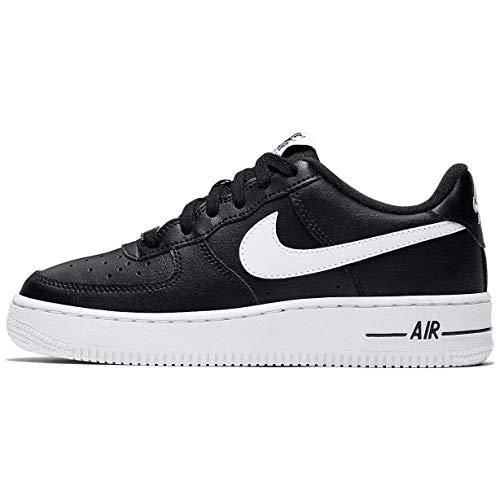 Nike AIR Force 1 AN20 (GS) Running Shoe, Black/White, 39 EU