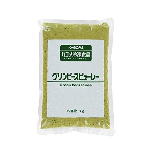 冷凍グリーンピースピューレ 1kg 【冷凍】/カゴメ(2袋)