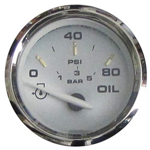 "Faria 19002 Kronos Oil Pressure Gauge (80 PSI) - 2"""