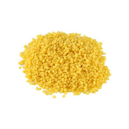 50g Cire d'Abeille Naturelle Jaune Cire d'Abeille de Qualité Alimentaire Pure Cosmétiques Matériel de Savon